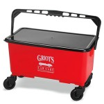 Griots Garage Ultimate Car Wash Bucket with Lid & Casters